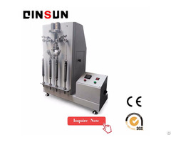 Zipper Reciprocating Pull Testing Machine Complies With Din 3419 Satra Tm50