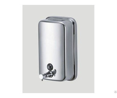 Stainless Steel Manual Hand Soap Dispenser 1200ml Satin Polish Finish Crafts