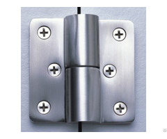 Bathroom Toilet Cubicle Hardware With Self Closing Partition Door Hinges