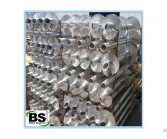 Round Shaft Helical Piles Conforms To Astm A500 Grade B