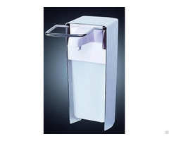 Medical Standard Elbow Soap And Disinfection Dispenser 1000ml Capability Metal Color