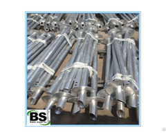 Better Screw Seamless High Tensile Pipe Round Shaft Helical Piles