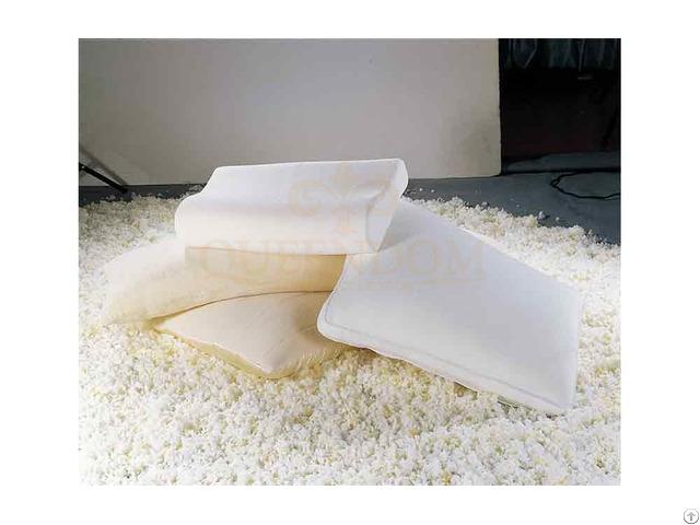 Shredded Memory Foam Pillow Washable Case For Neck Pain