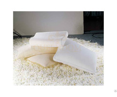 Shredded Memory Foam Pillow Washable Case For Neck Pain
