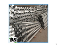 Hot Dip Galvanized Mobil House Screw Piers For Sales