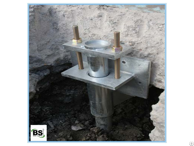 Steel Push Piers System For Foundation Stabilization