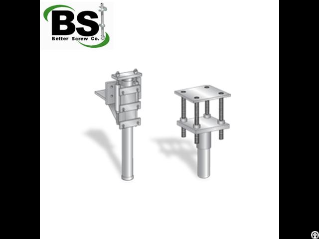 Foundation Steel Push Piers System