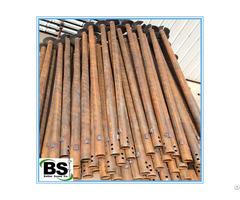 Galvanized Steel Round Shaft Helical Pile