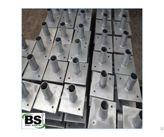 House Foundation Push Pier Helical Brackets