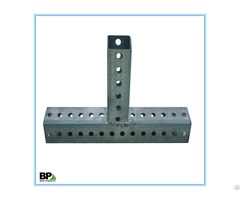 High Strength Steel Galvanized Square Sign Posts