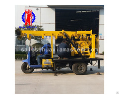 Xyc 200a Tricycle Mounted Hydraulic Core Drilling Rig Machine Supplier