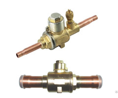 High Quality Pressure Gbc Type Brass Ball Valve Shut Off Refrigeration