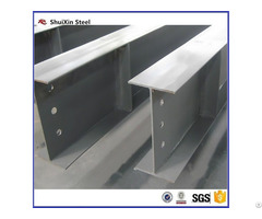 Structural Steel H Beam Standard Q195 Material For Construction