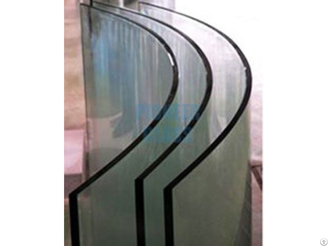 Clear Bent Tempered Glass