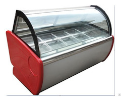 Luxuriousiced Popsicle Ice Cream Display Cabinet Cryogenic Reveal Ark
