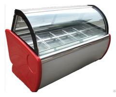 Luxuriousiced Cabinet Cryogenic Ice Cream Display Cabinets