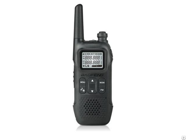 Baofeng T8 Portable Mini Radio 0 5w Pmr 446 Ham Radios Transceiver Weather