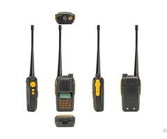 Baofeng Uv 6r Vhf Uhf Fm Tranceiver Two Way Radio 5w Dual Band 3 5km Distance