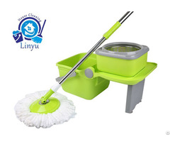 Kxy Zd 360 Spin Mop With Folding Bucket