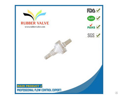 Liquid Flow Reducing Pc Silicone 1 8 Inch Valve