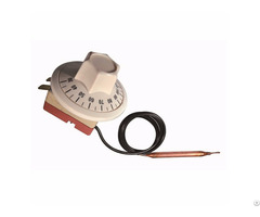 Wy C Series High Temperature Adjustable Manual Reset Capillary Tube Type Thermostat