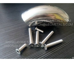 Stainless Steel Elbows And Bolts