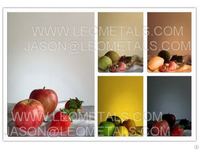 Stainless Steel Color Sheets