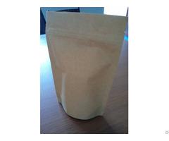 Simple Kraft Paper Bag With A Zipper