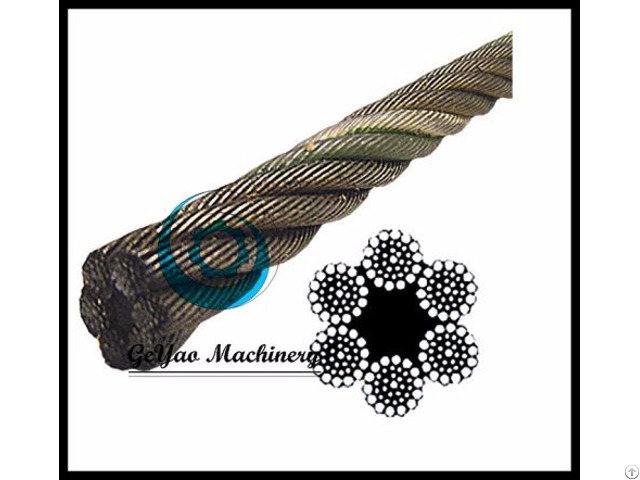 Bright Wire Rope Eips Fc 6x37 Class Lineal Foot