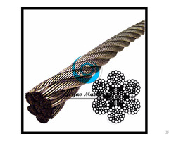 Stainless Steel Wire Rope 304 Iwrc 6x37 Class Lineal Foot