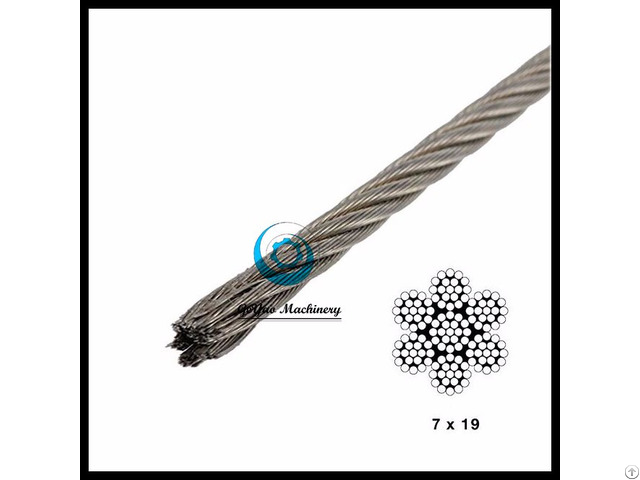 Stainless Steel Wire Aircraft Cable Type 304 Lineal Foot