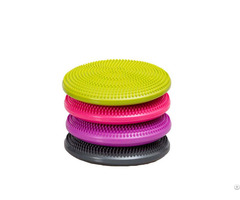 Body Building Exercise Colorful Massage Balance Disc Seat Air Cushion
