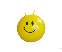 Eco Friendy Pvc Inflatable Jumping Hopper Ball With Horn Wholesale