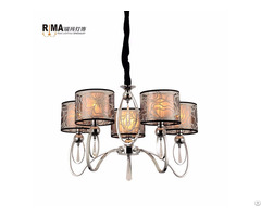 Hotel Lobby Decoration Large Chain Chandeliers Light