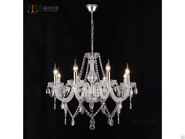 Pendant Light K9 Luxury Crystal Chandelier For Living Room