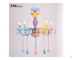 Rima Lighting Colorful Lustre Pendant Lamp For Kids Children Room Decor