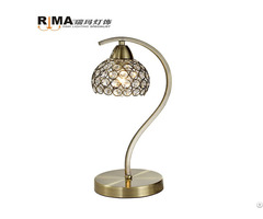 Reading Room Classic Dimming Modern Crystal Table Lamp