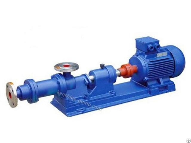 Progressive Cavity Sanitary Beverage Pump