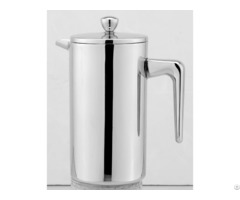 Double Wall Stainless Steel French Press Coffee Plunger Tea Maker