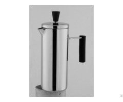 Single Wall Stainless Steel French Press Coffee Plunger Tea Maker