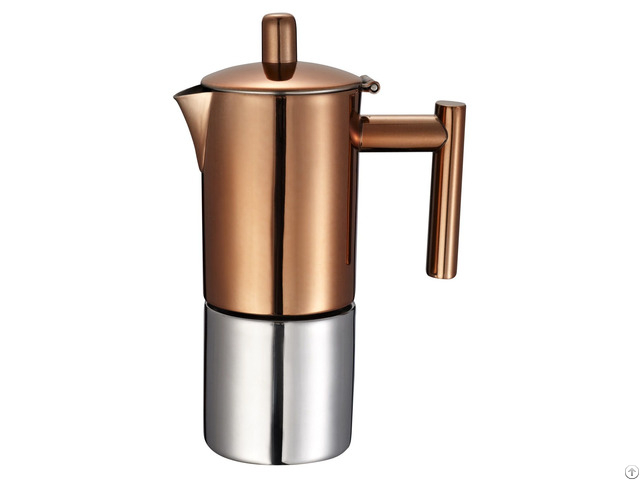 Stainless Steel Stovetop Espresso Coffee Maker