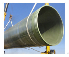 Good Airtightness Fiberglass Pipes