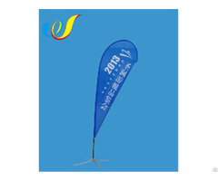 China High Quality Cheap Customized Display Flag Teardrop Banners Manufacture