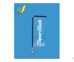 China Customized High Quality Cheap Display Flag Rectangle Banners Wholeasale