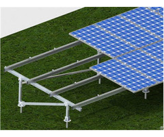 Screw Pile Foundation Solar Pv Ground Mounting System By Galvanized Q235 Steel