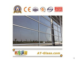 Low E Emissivity Coated Reflective Glass Radiation Protection