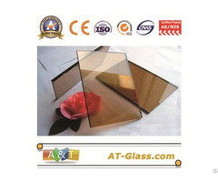 4mm 6mm 10mm Bronze Float Color Glass Used For Building Curtain Wall
