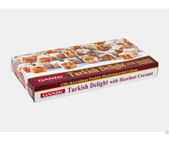 Double Roasted Turkish Delight With Hazelnut Coconut 454 G