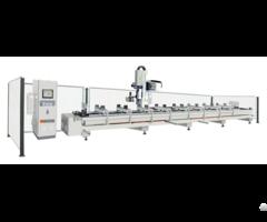 Aluminium Curtain Wall 3 Axis Milling Machine