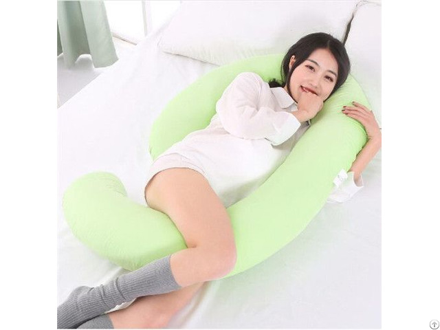 China 2019 Hot Sale Comfortable Cotton Pregnancy Latest Maternity U Shaped Pillow